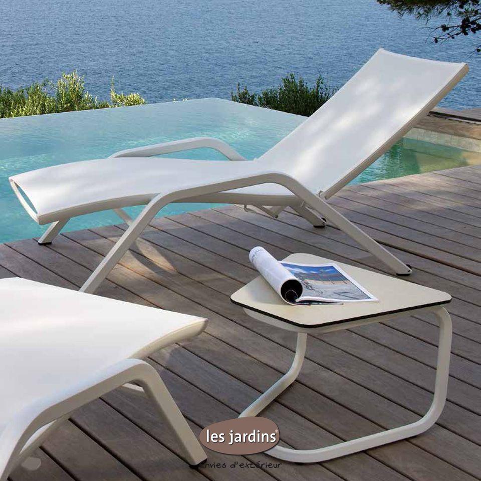 Bain De Soleil Collection Yolo Par Les Jardins Mobilier Jardin Bain De Soleil Mobilier
