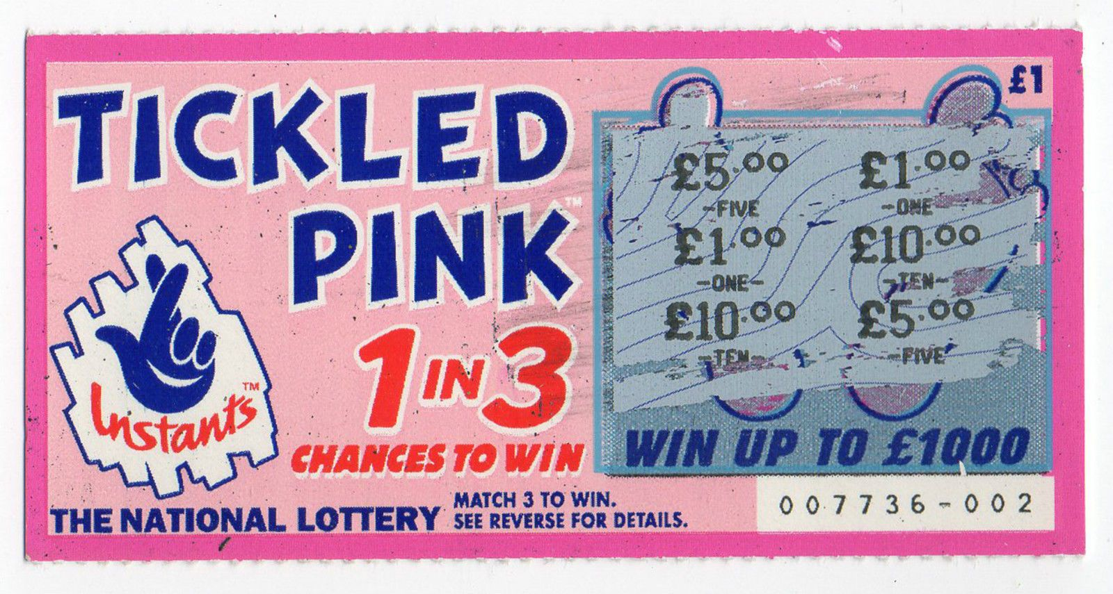Pin on Old National Lottery Scratchcards