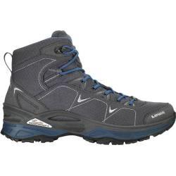 Lowa Herren Trekkingschuhe Ferrox Gtx Mid, Größe 47 in graphit/blau, Größe 47 in graphit/blau Lowa