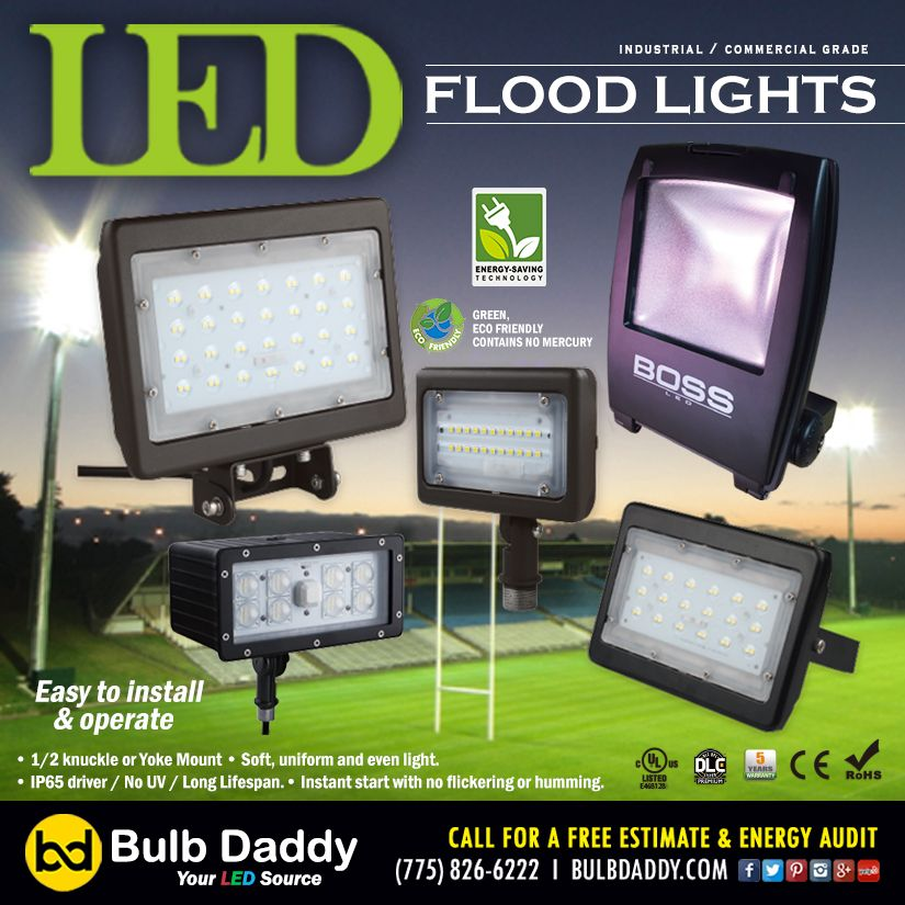Check Out Bulb Daddy S Led Flood Light Clearance Sale Discounted By The Manufacturer Free Shipping Marked Down And Guaranteed Deep Flood Lights Bulb Flood