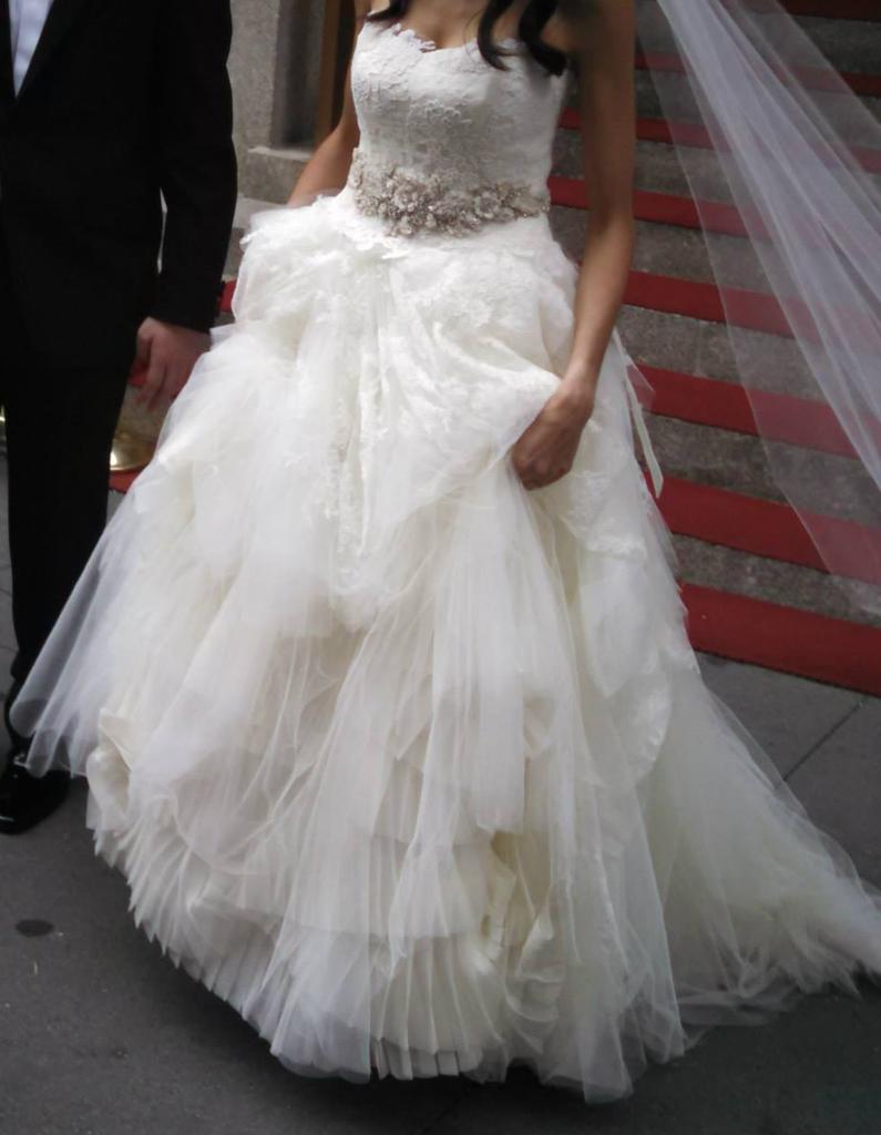 15061c897e4f Vera Wang 'Eliza' in 2019   Shop Nearly Newlywed   Wedding dresses ...