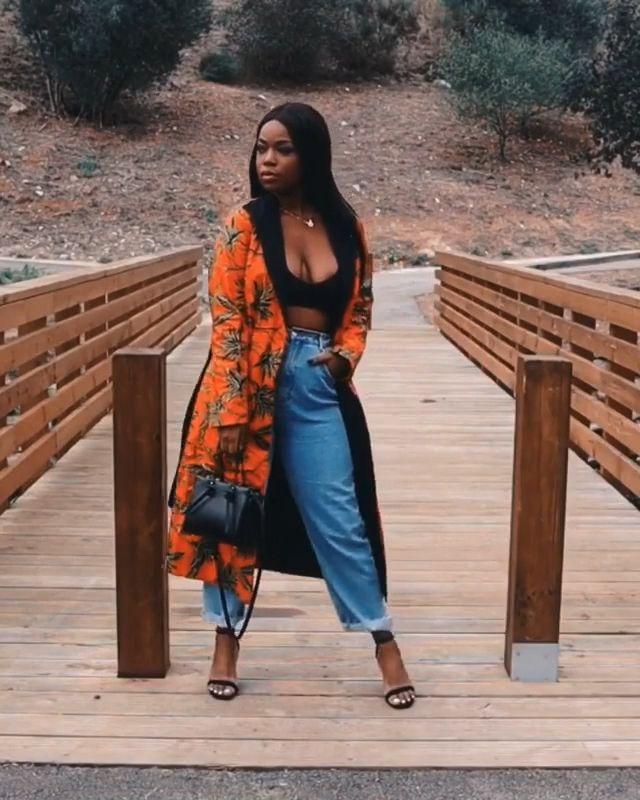 African Print EBI Coatdress – Exotique Couture