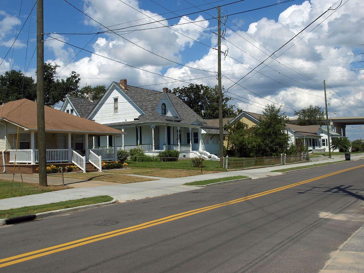 Orange Avenue Historic District in Jackson County, Mississippi.