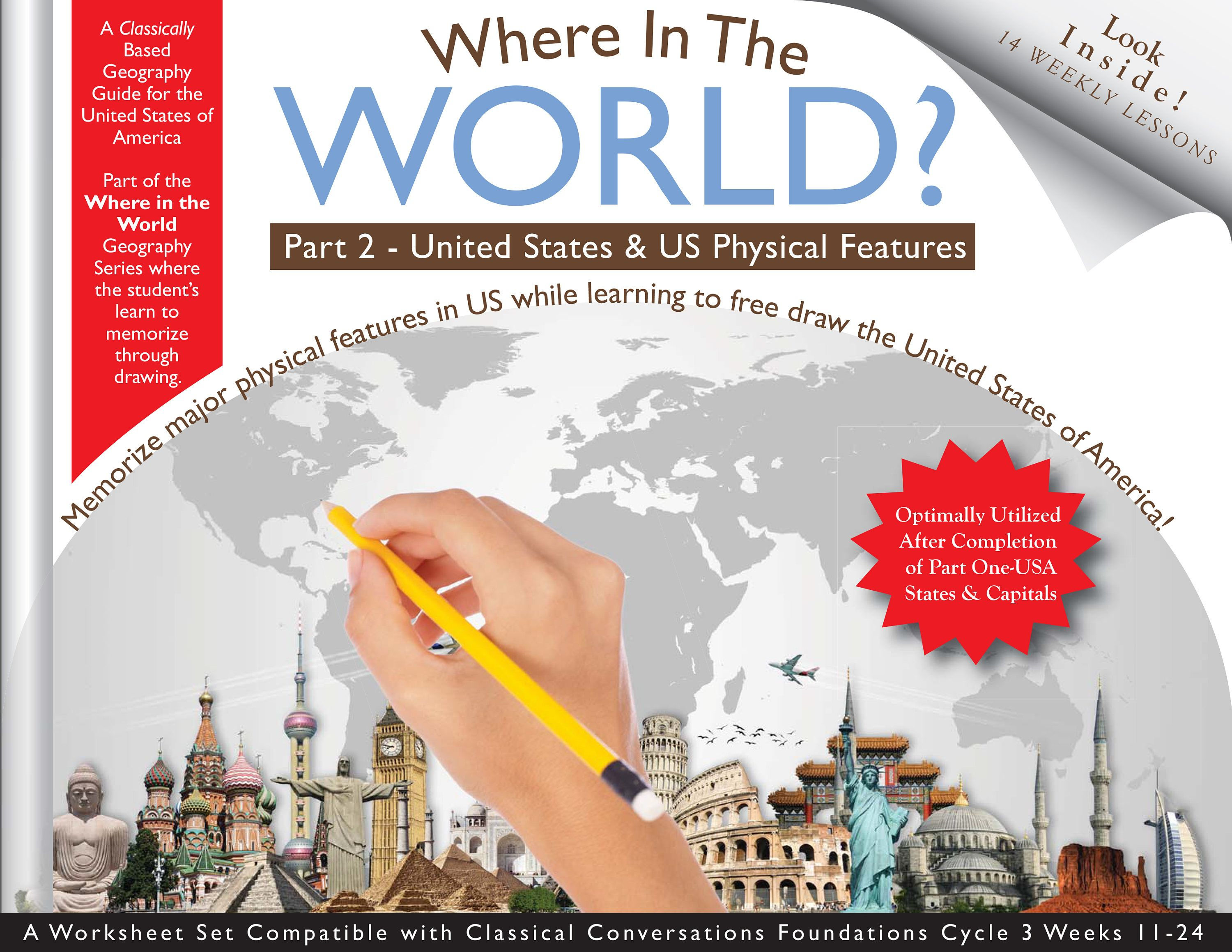 Where In The World Geography Usa Part 2 Physical Features