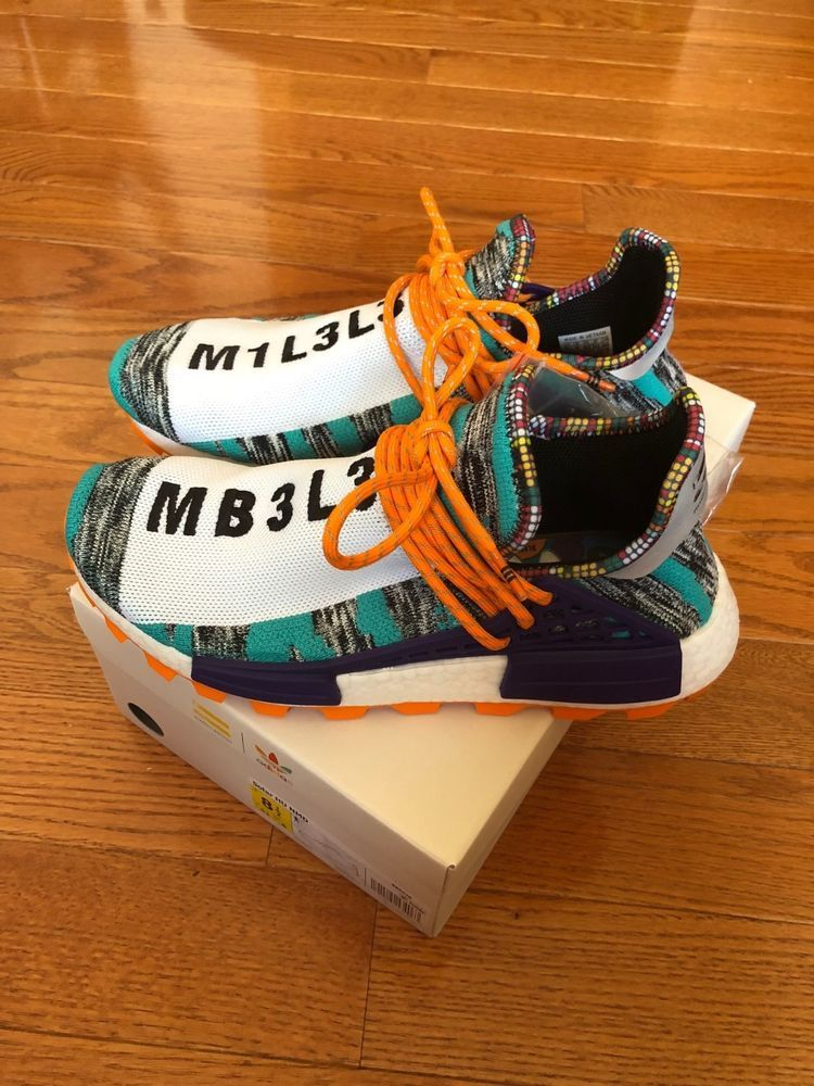 c5929abcd69cd Adidas HU NMD Pharrell William Human Race Solar Pack Size 8.5 BB9528   fashion  clothing  shoes  accessories  mensshoes  athleticshoes  ad (ebay  link)