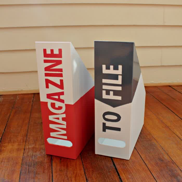 Canvas of Magazine Holder IKEA: First Assistance to Keep Your Magazines Well-Organized