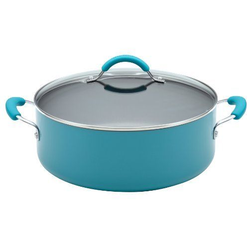KitchenAid Aluminum Nonstick 7-1/2-Quart Covered Wide Stockpot, Peacock by Meyer, http://www.amazon.com/dp/B009A1SRS2/ref=cm_sw_r_pi_dp_4yf2rb00C23HR