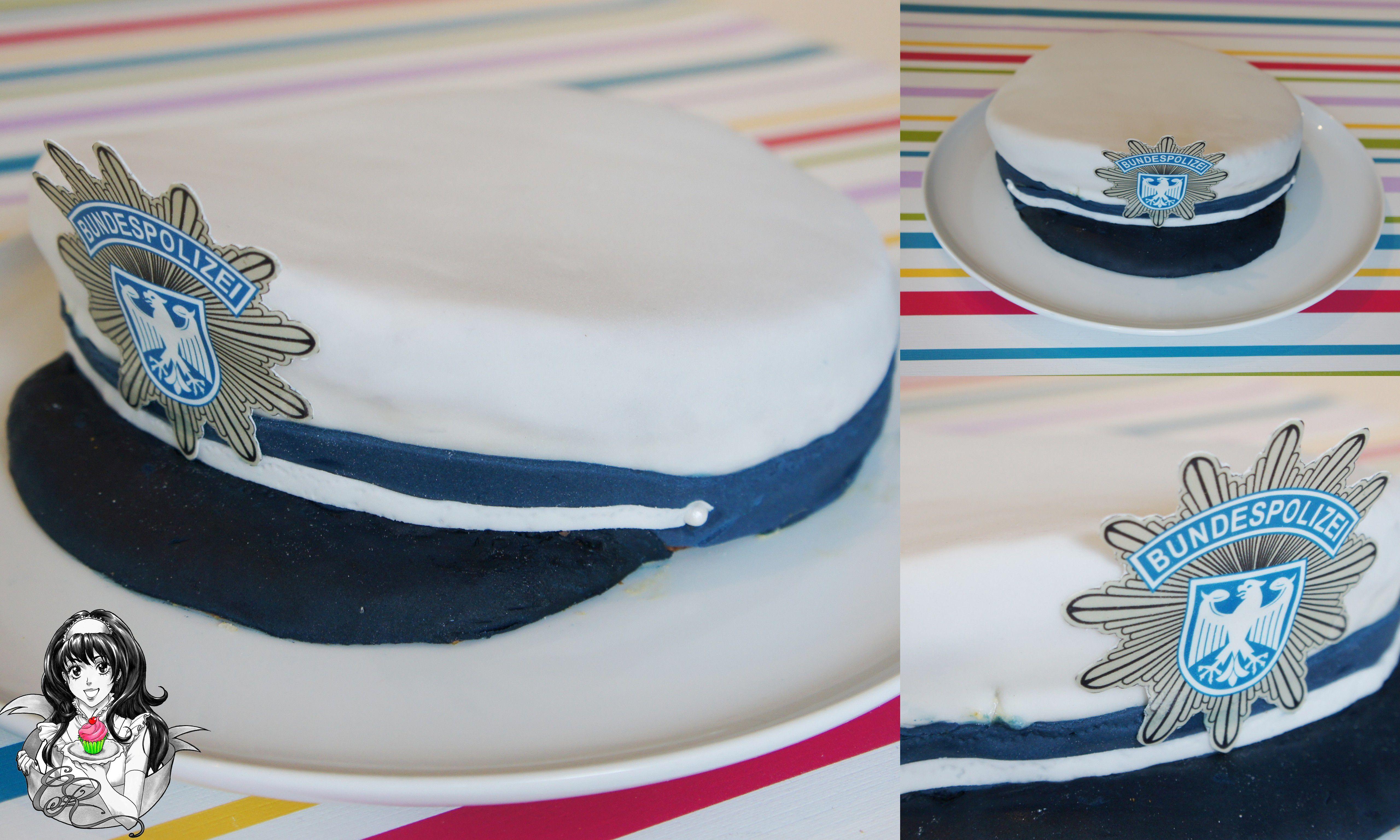 Hochzeitstorte Gã¼Nstig   Polizei Kuchen Basteln Malen Kuchen Backen Polizei Detektiv Party
