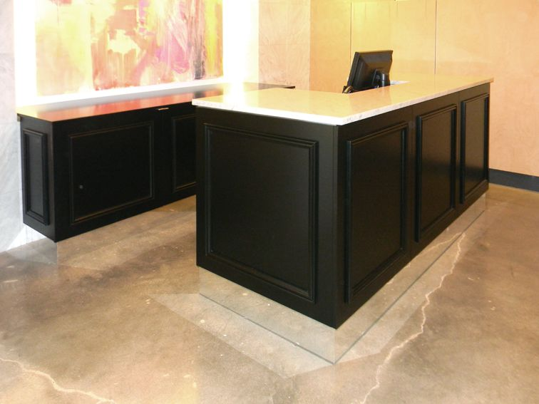 Cash Wrap Counters And Cabinets Cash Wrap and Back Counter
