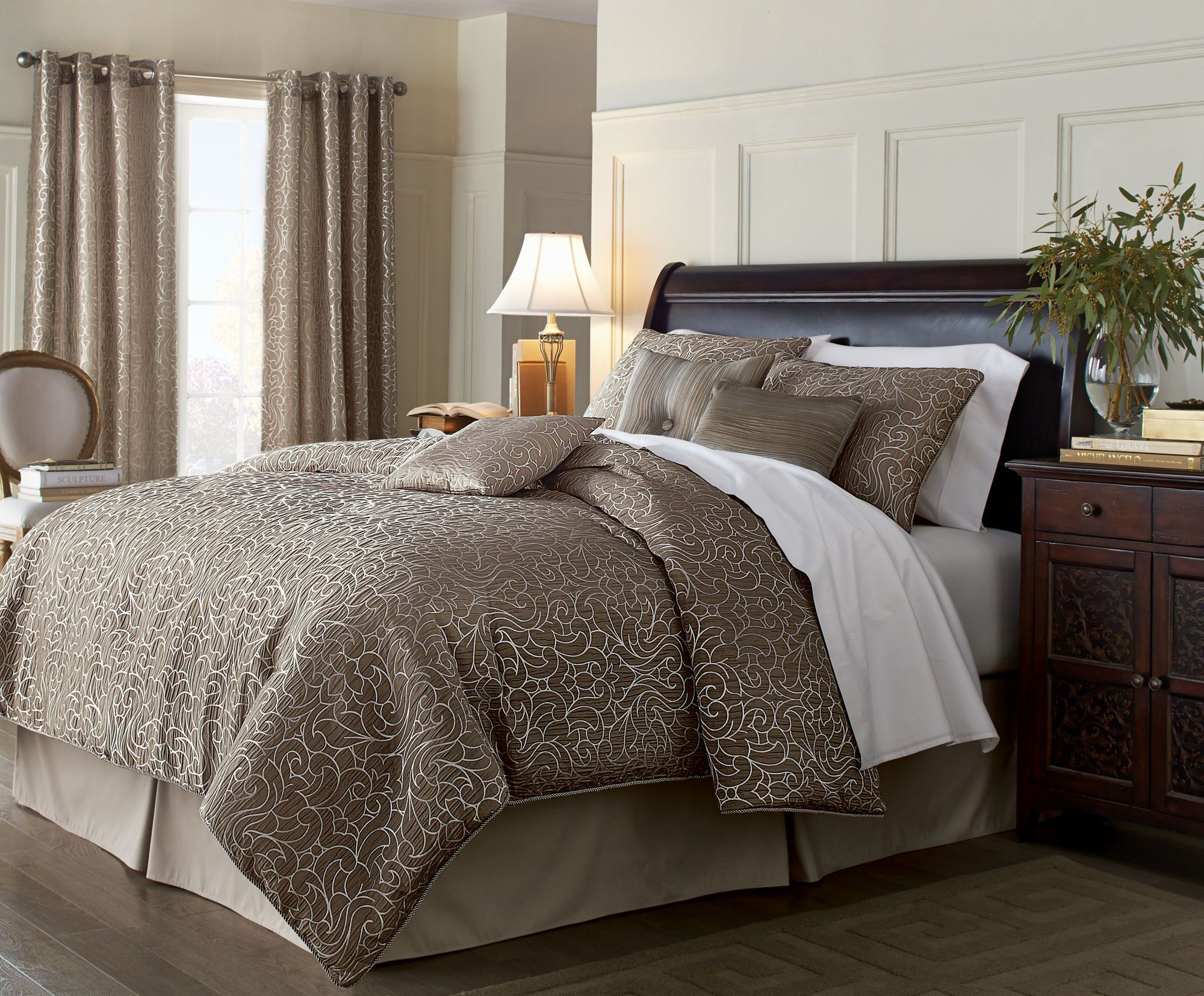 'Arabesque' 7Piece Comforter Set Comforter sets, Home