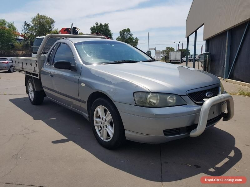 Car For Sale Ford Falcon Xl Ba Ute Manual 4 0l Cab Chassis Cheap