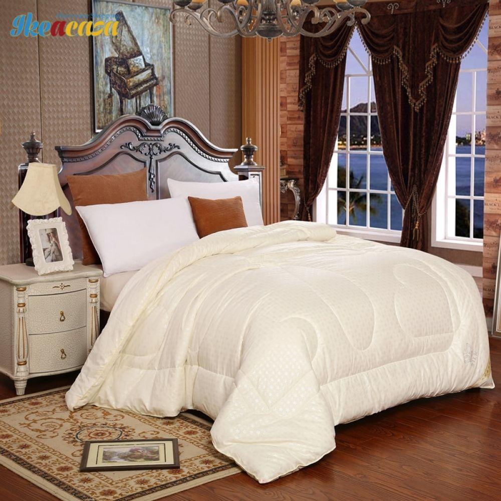 Summer Winter 100 Mulberry Silk Blanket Comforters FREE
