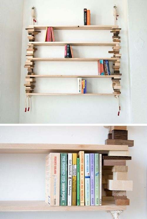 Amazing Blockshelf By Norwegian Designer Amy Hunting Design Ideas