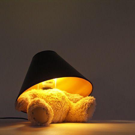 Teddy Bear Lamp By Matthew Kinealy Unusual Lamps Lamp Home