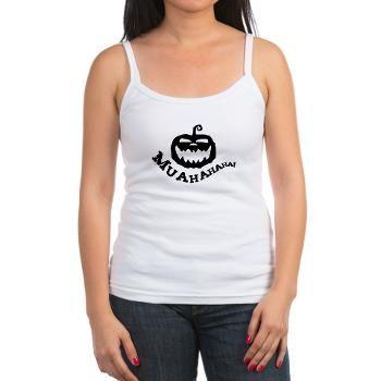 Evil pumpkin with evil laugh Tank Top