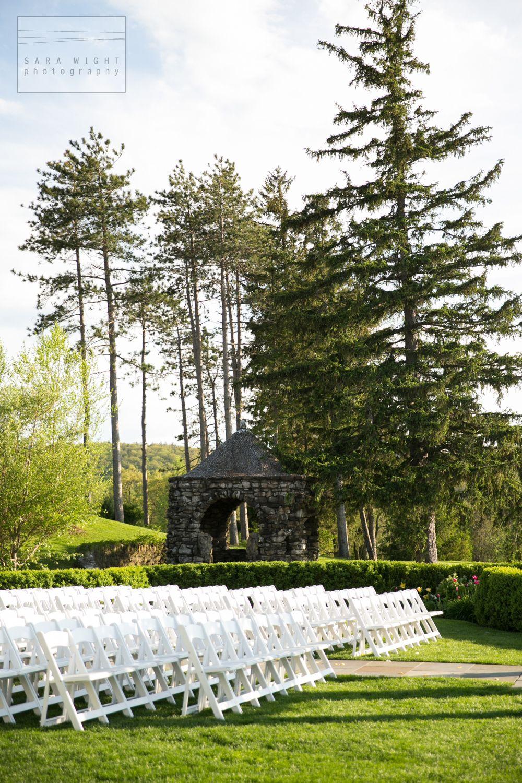 Grounds With Gazebo, Wedding Ceremony. The Garrison