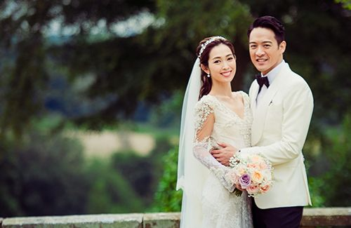 Jason Chan and Sarah Song tie the knot in England! They will hold two more…