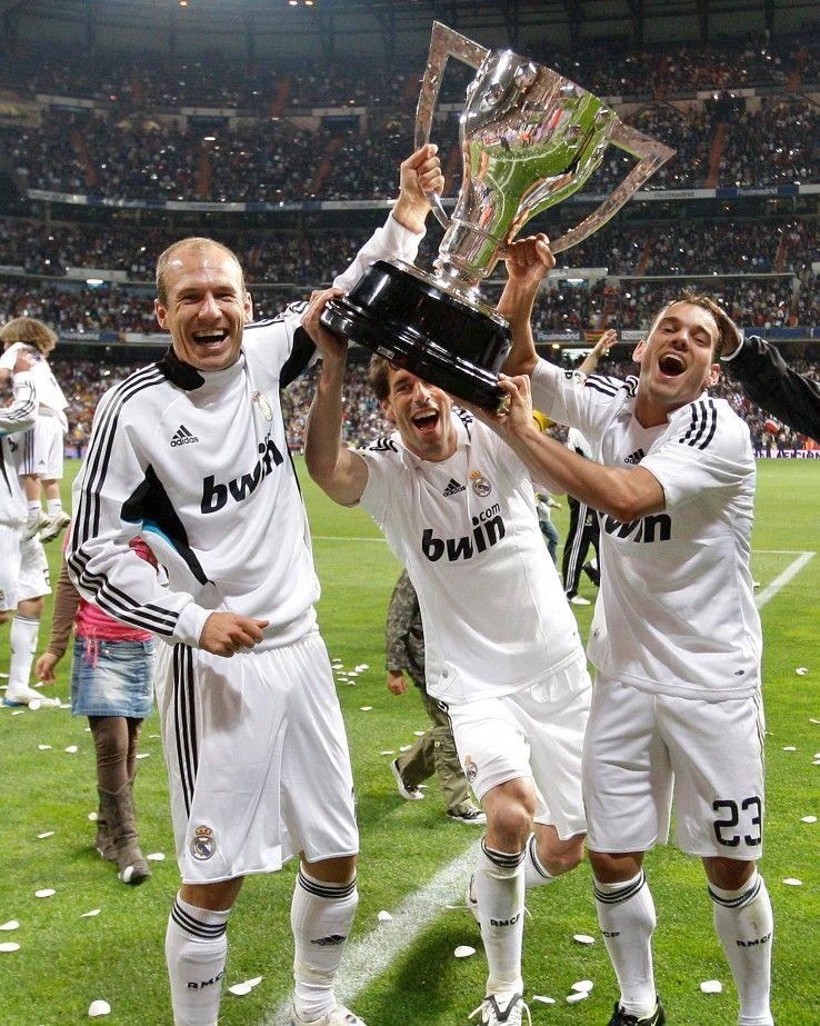 sale retailer 6ddf1 41db8 Arjen Robben Wesley Sneijder & Ruud Van Nistelrooy Real ...