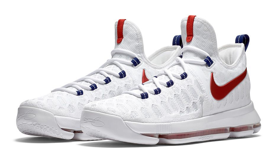 When Kevin Durant and the rest of Team USA travel to Rio de Janeiro for the 2016  Olympic Games, he will have on the Nike KD 9 'USA' edition.