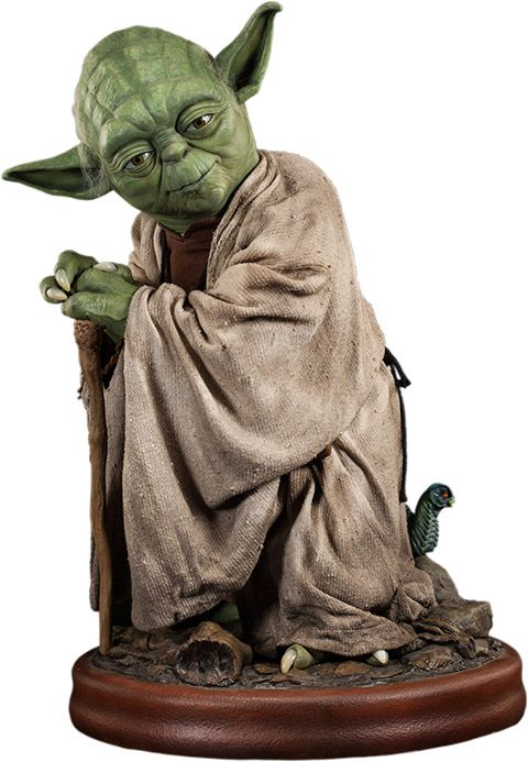 Star Wars Yoda Life Size Figure With Images Sideshow Star Wars