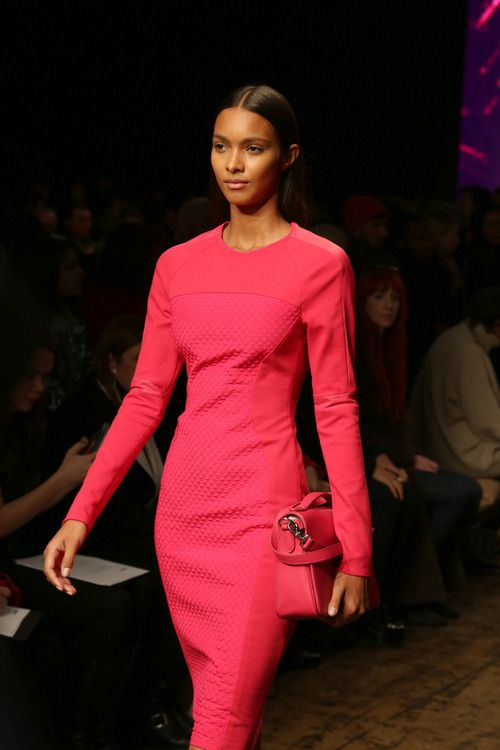 Loving the cut and color    blackberryvision:    Lais. DKNY F/W 2013.