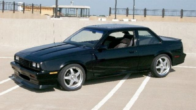 1987 Chevrolet Cavalier Z24 Coupe Custom Cars Chevy Girl Chevy