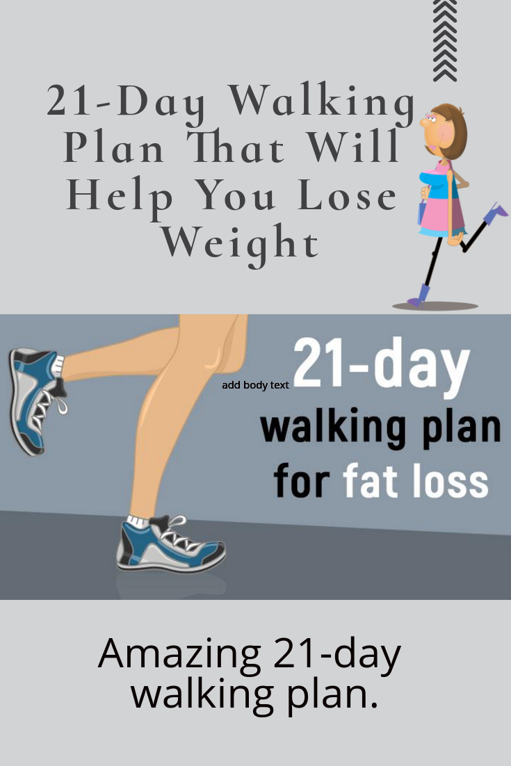 21-day walking plan that will help you lose weight | fitness book