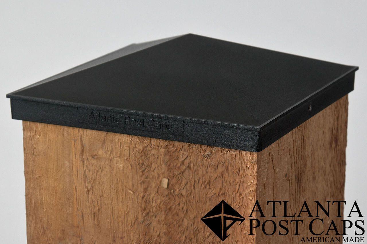 8x8 Post Cap Black Aluminum Pyramid Post Cap Metal Post Caps Deck Railing Design
