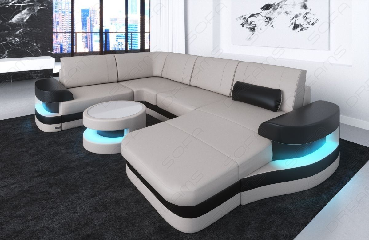 Modern Leather Sofa Tampa U Shape | living room in 2019 ...