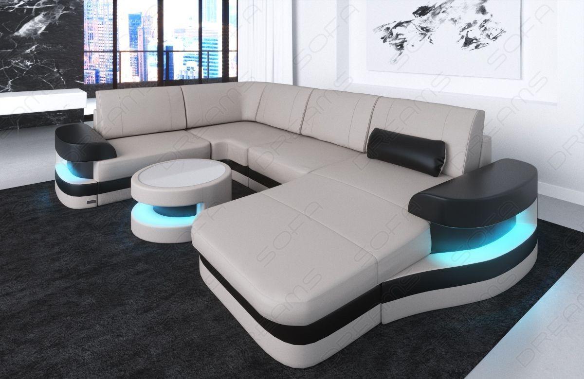 Modern Leather Sofa Tampa U Shape Modern Leather Sofa Modern