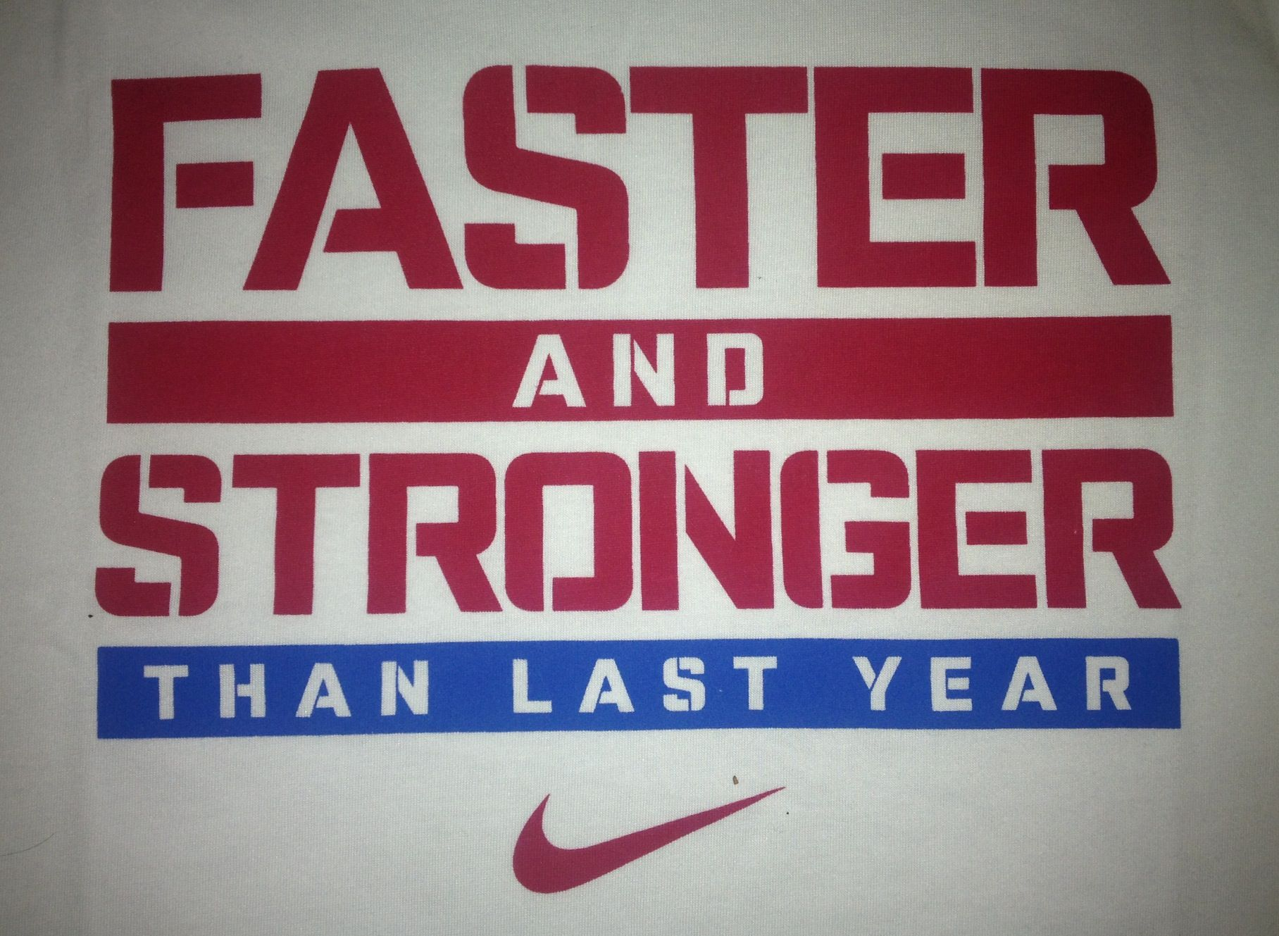 Harder Better Faster Stronger Nike