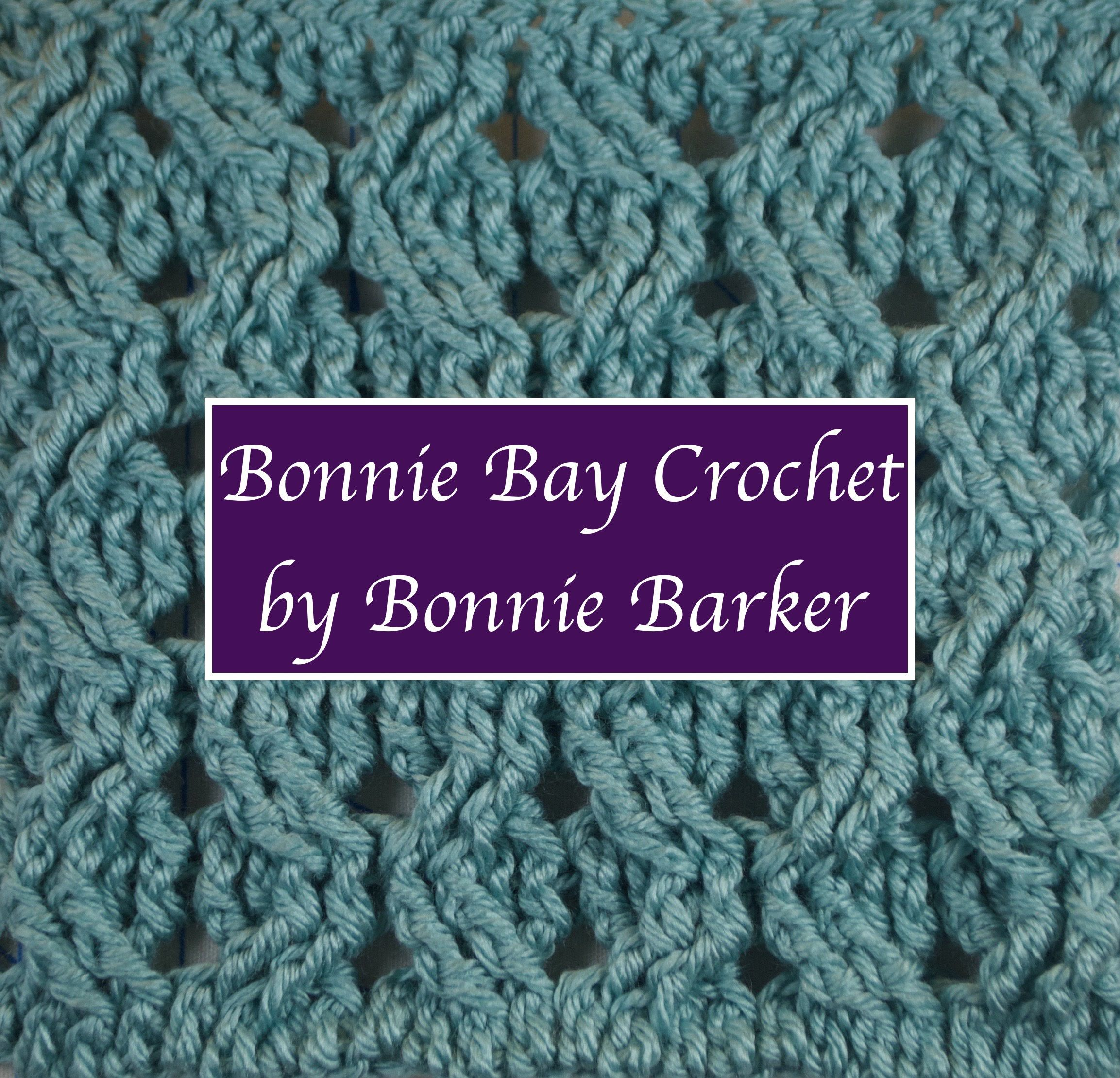 Bonnie Barker demonstrates the left-handed wheat stitch using front ...