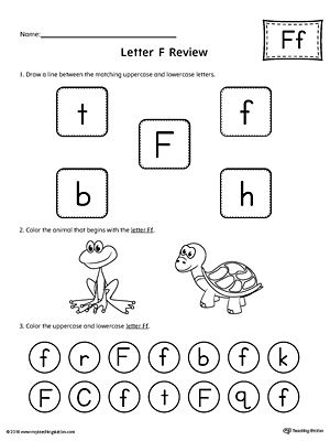 All About Letter F Printable Worksheet Alphabet Worksheets Kindergarten Alphabet Worksheets Printable Alphabet Worksheets