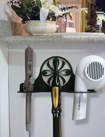 Wall Mount Ribbon Hair Dryer Holder