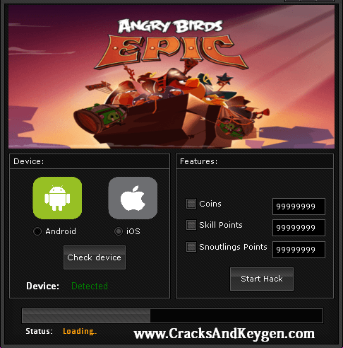 Angry Birds Epic Hack Download | Hacks | Angry birds, Hacks