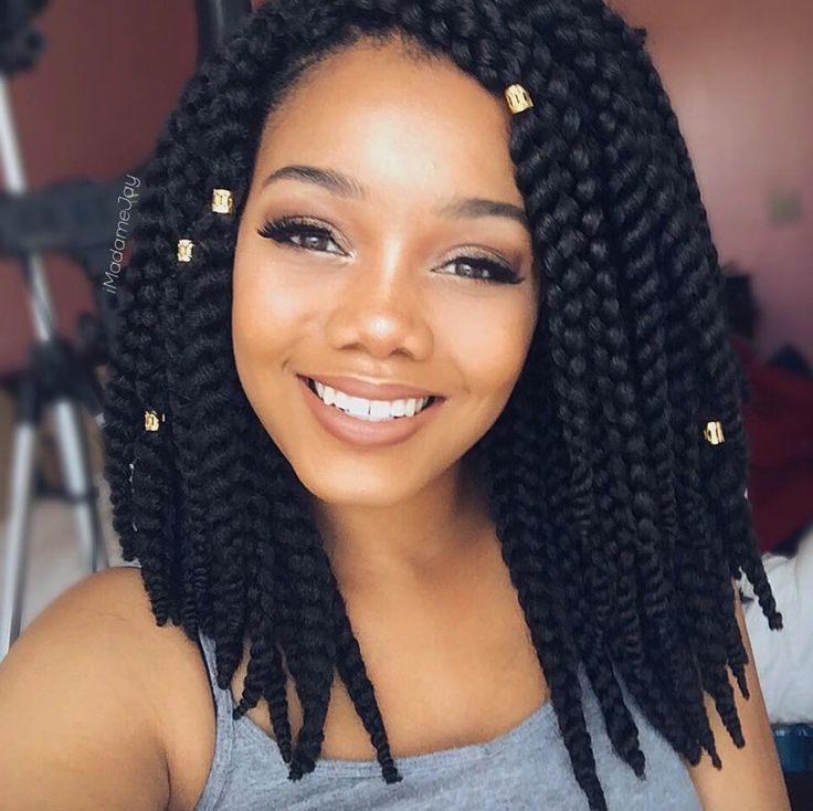 Crochet braids makeup beauty pinterest trenza for Crochet braids salon