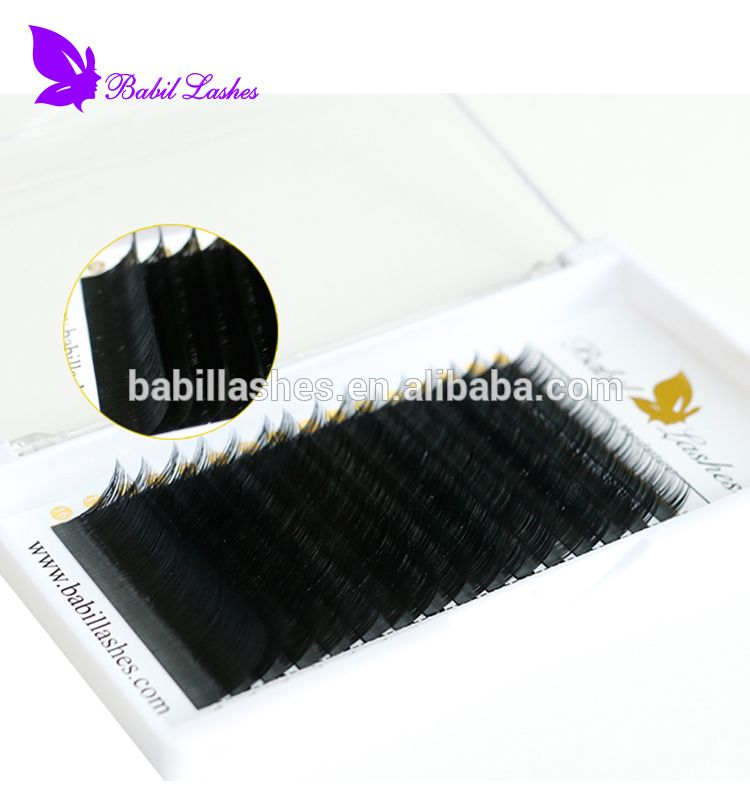 e10e3bdc6e7 Chinese Factory Custom Package Private label Wholesale Best Eyelash  Extension 0.07 0.05