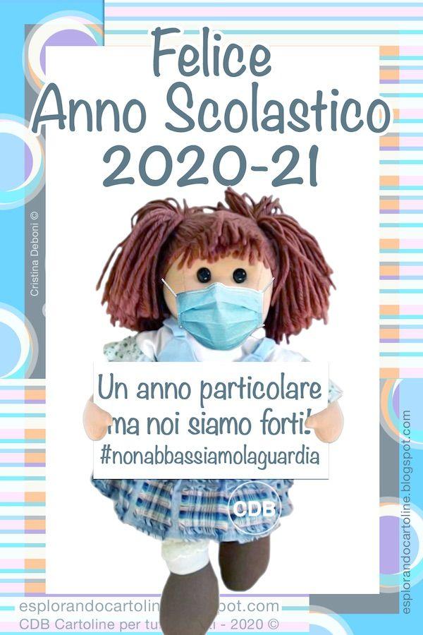 Cdb Cartoline Per Tutti I Gusti Cartolina Felice Anno Scolastico 2020 21 U Nel 2020 Bentornato A Scuola Immagini Scuola Divertente