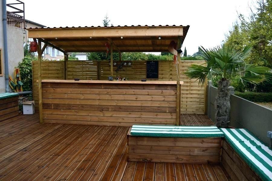Fabriquer Un Bar Exterieur Construire En Bois Affordable