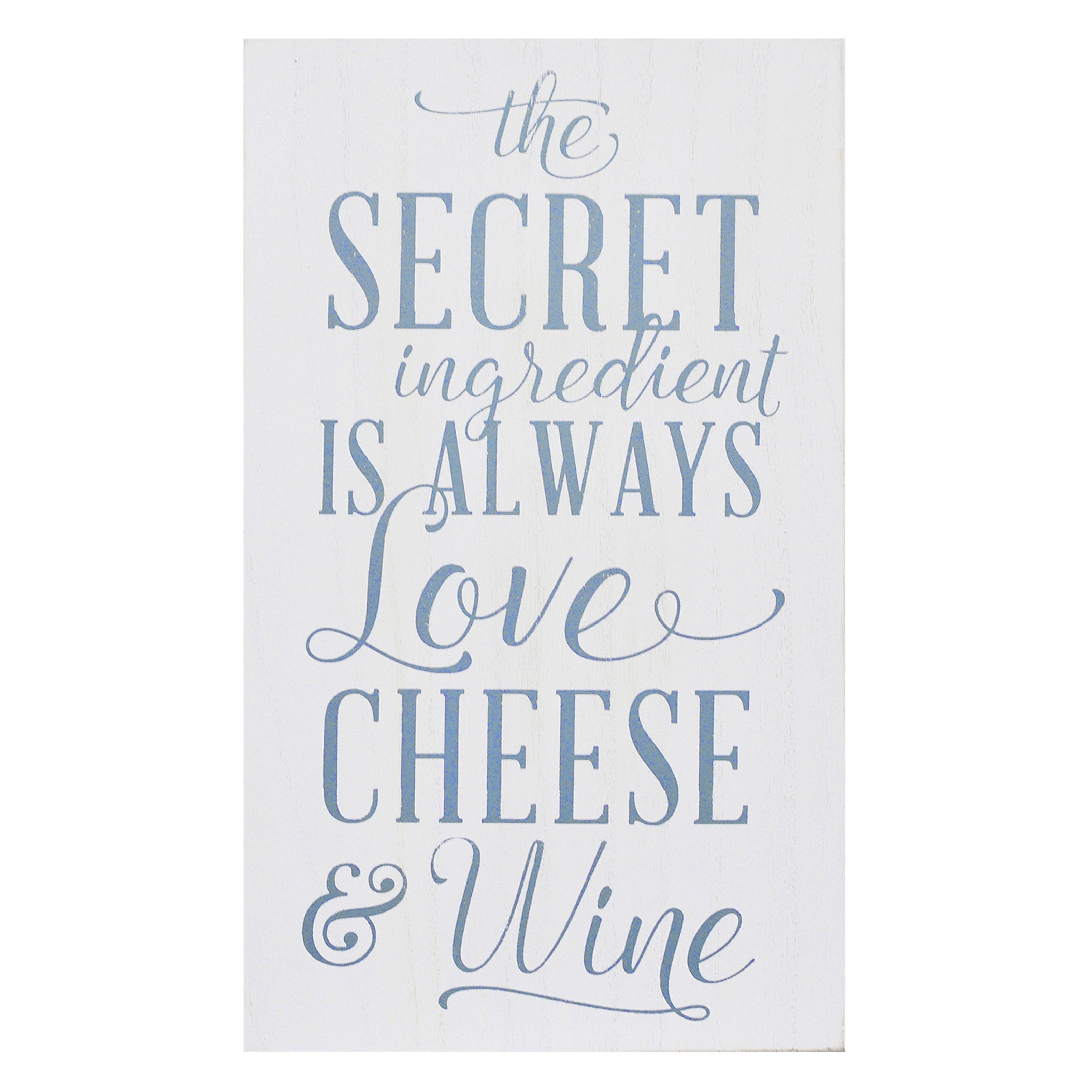Stratton home love cheese wine wall art from hayneedle