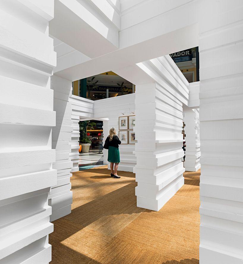 LIKEarchitects salvador dali temporary museum lisbon portugal designboom