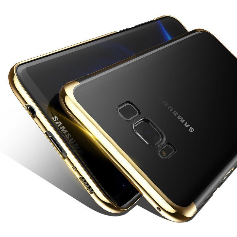 luxury transparent case for samsung galaxy s8 s8 plus almost bond
