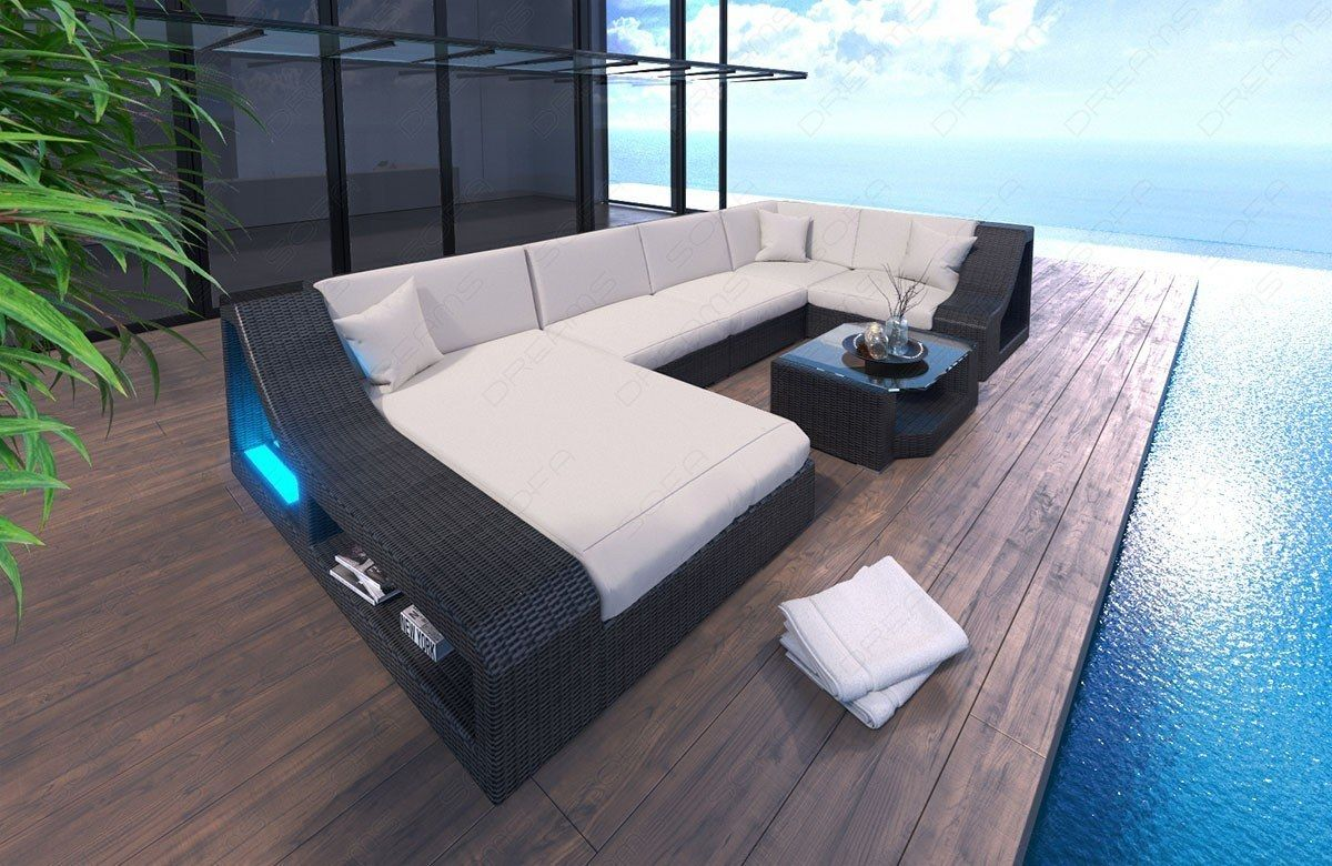 Rattan Sofa Turino U Form In 2020 Loungemobel Garten Lounge Und