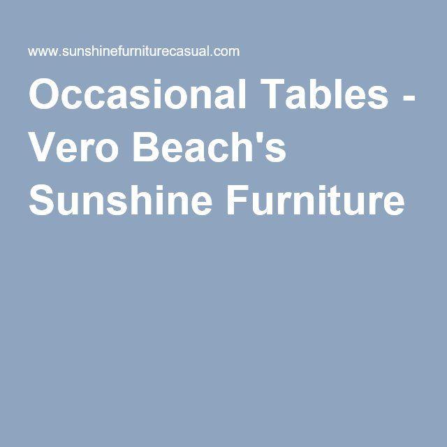 Occasional Tables   Vero Beachu0027s Sunshine Furniture