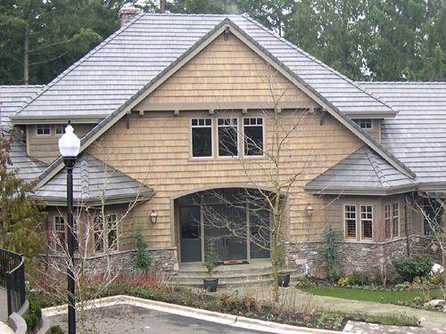 Teal Shingles Prestained Semi Transparent Dark Gray Tight Knot Cedar Skirl Bevel Siding Stained Cabots Semi Transparent Roofing Roofing Estimate Cedar Shingles