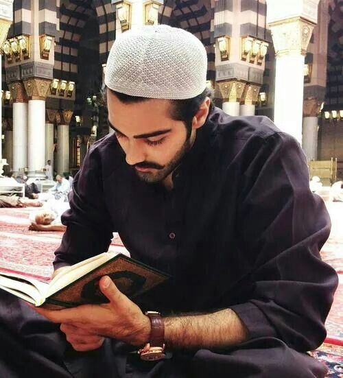 Handsome muslim