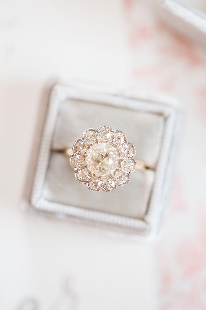 Inspiración romántica elegante de la boda | Glamour y gracia  – Boda fotos