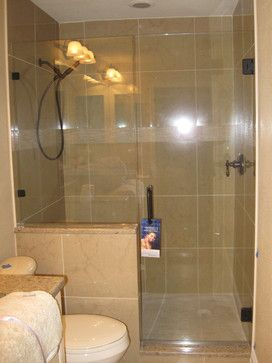 Bathroom Walk In Shower With Knee Wall Google Search