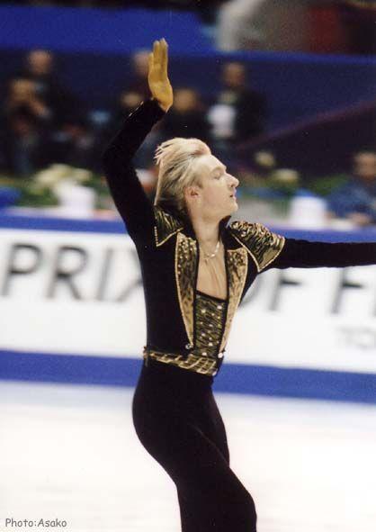2006 Olympic champion of figure skating star  Evgeny Pluschenko on Flickr