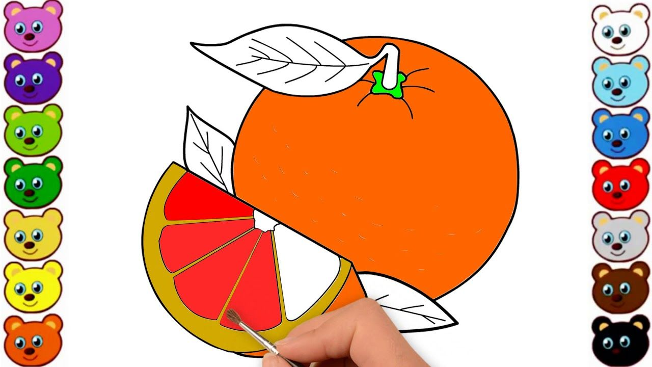 Draw A Lemon Step By Step Easy Way For Kids Draw Fruits
